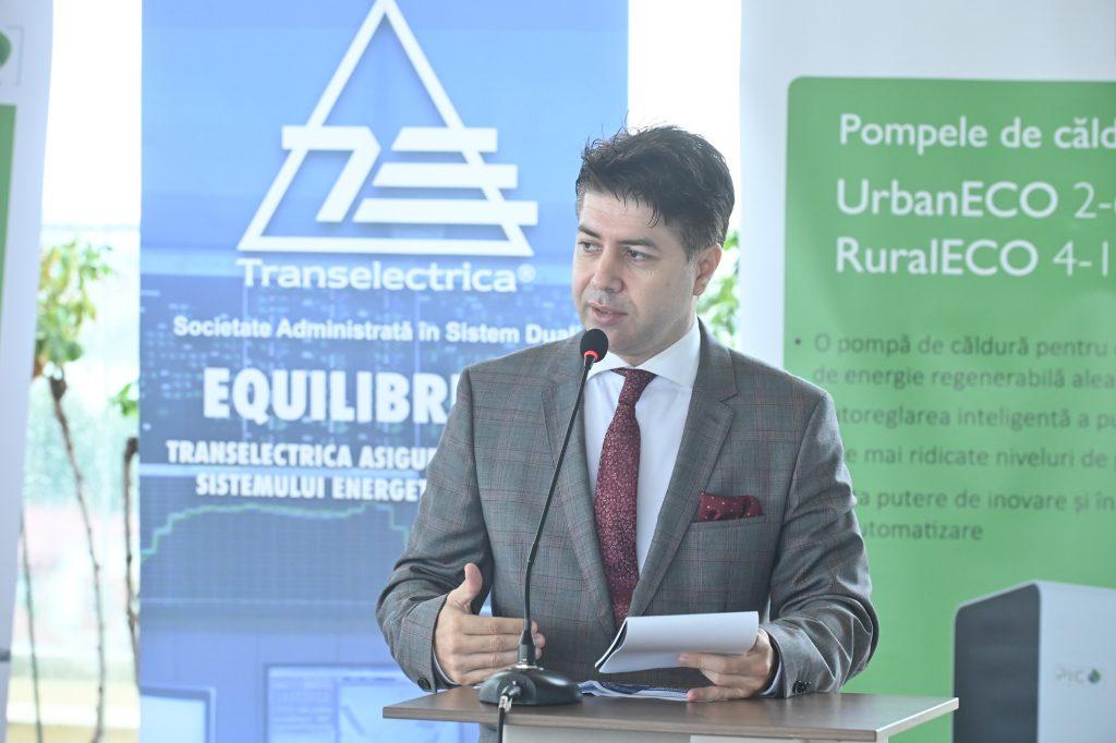 Iulian HARPA la Relansarea investițiilor în sectorul energetic Rolul pompelor de căldură în tranziția energetică