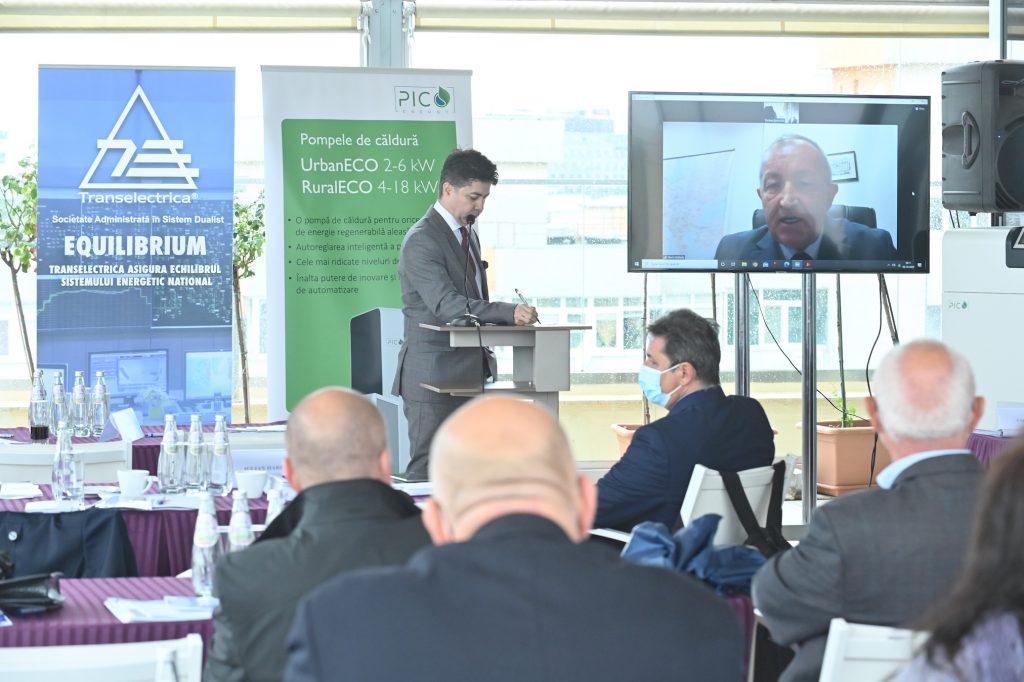 Florin BĂLAȘIU la Relansarea investițiilor în sectorul energetic Rolul pompelor de căldură în tranziția energetică Pompe de căldură PicoEnergy