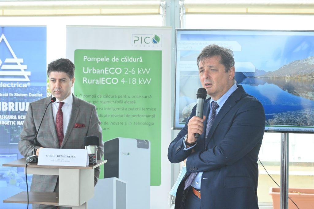 Ovidiu DEMETRESCU la Relansarea investițiilor în sectorul energetic Rolul pompelor de căldură în tranziția energetică Pompe de căldură PicoEnergy