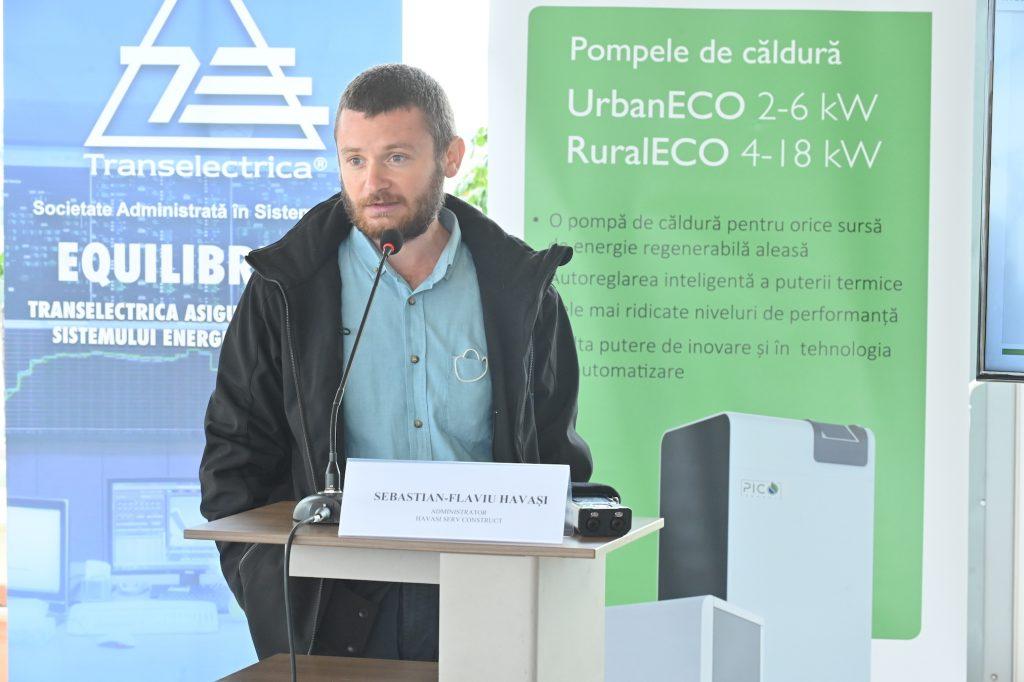Sebastian-Flaviu HAVAȘI prezintă pompe de căldură PicoEnergy