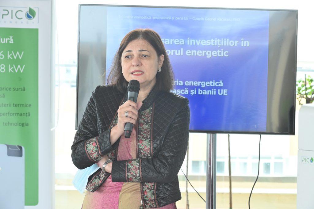 Silvia VLĂSCEANU la Relansarea investițiilor în sectorul energetic